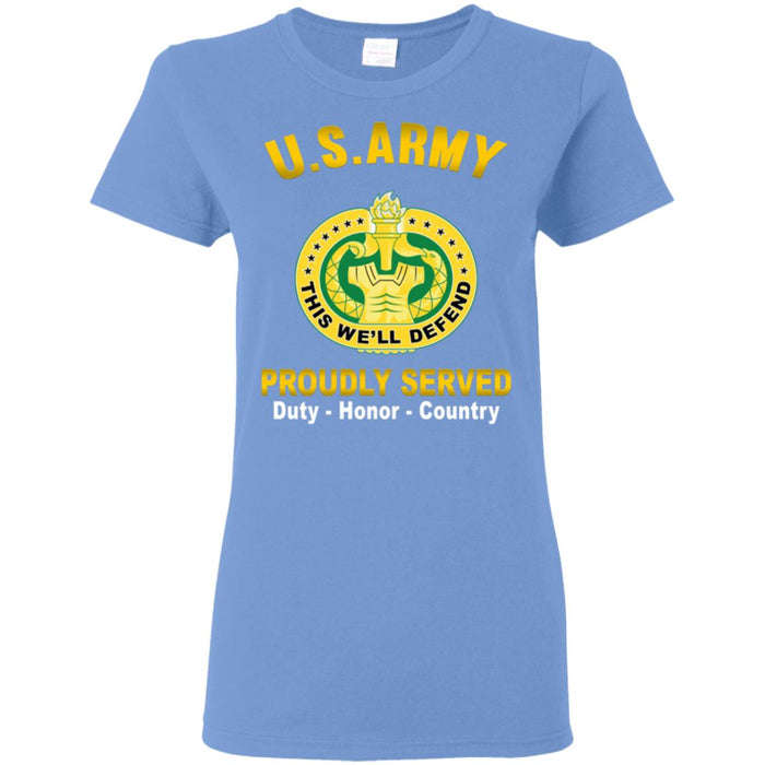 US Army Drill Sergeant Proudly Served Ladies' T-Shirt