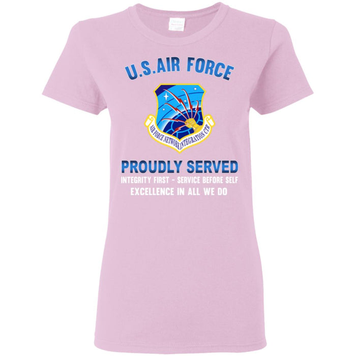 US Air Force Communications Command Proudly Served Ladies' T-Shirt