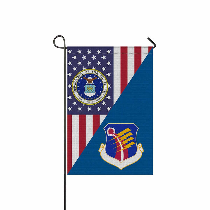 US Air Force 40th Air Division Garden Flag 12'' x 18'' Twin-Side Printing