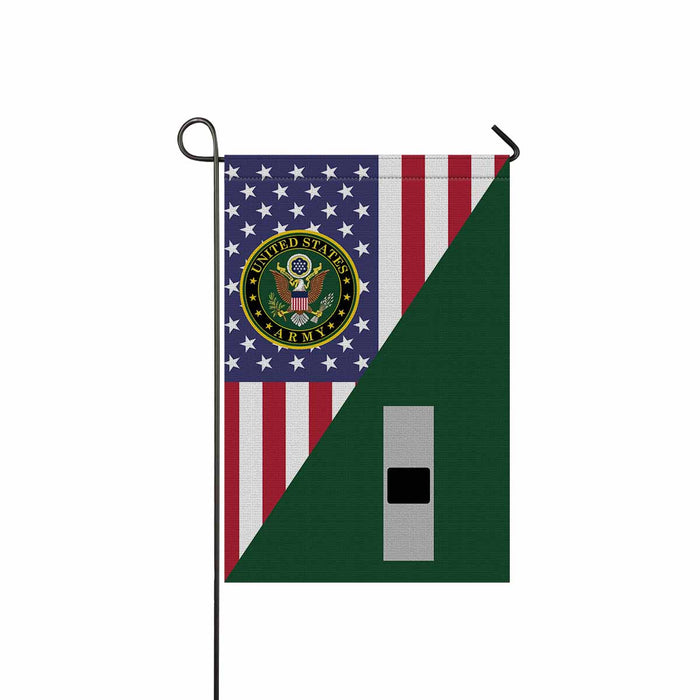 US Army W-1 Warrant Officer 1 W1 WO1 Warrant Officer Garden Flag 12'' x 18'' Twin-Side Printing