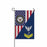 "Navy Counselor Navy NC E-5 Gold Stripe  Garden Flag 12"" x 18"""