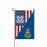 US Coast Guard E-9 Master Chief Petty Officer Of The Coast Guard E9 MCPOC Collar Device Garden Flag 12'' x 18'' Twin-Side Printing
