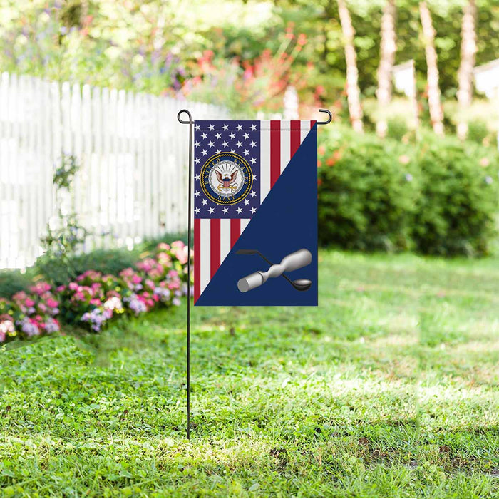 Navy Molder Navy ML Garden Flag 12'' x 18'' Twin-Side Printing