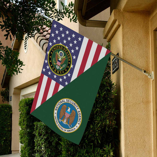 U.S National Security Agency House Flag 28 Inch x 40 Inch Twin-Side Printing