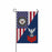 "Navy Opticalman Navy OM E-6 Red Stripe  Garden Flag 12"" x 18"""