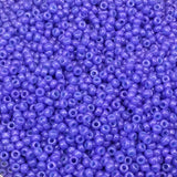 Size 11/0 Glossy Finish Opaque Purple Color Miyuki Glass Seed Beads - Sold by 23 Gram Tubes (~ 2500 Beads / Tube) - (11-91477)