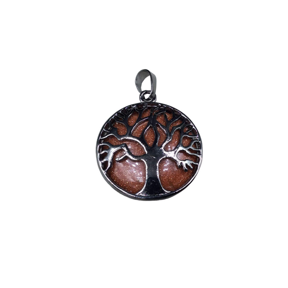 Copper Electroformed Tigers Eye and Jade Unicorn with Citrine Horse Necklace