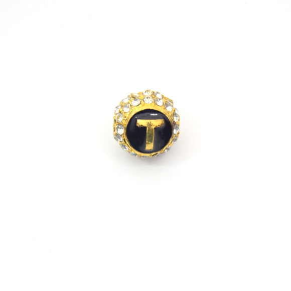 Clearance!! Gold 11mm Double-sided Letter