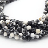 Zebra Jasper Beads |  Natural Smooth Round Gemstone Beads - 2mm 4mm 6mm 8mm 10mm Available