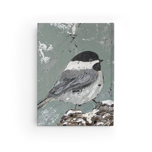 Chickadee. Journal - Ruled Line. Personalized