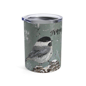 Chickadee Personalized Tumbler 10oz