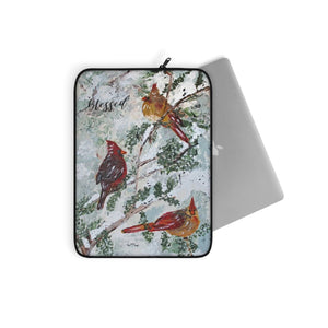 Laptop Sleeve. The 3 Cardinals. Personalized
