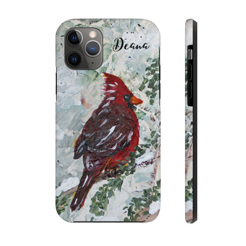 Cardinal. Personalized. Case Mate Tough Phone Cases
