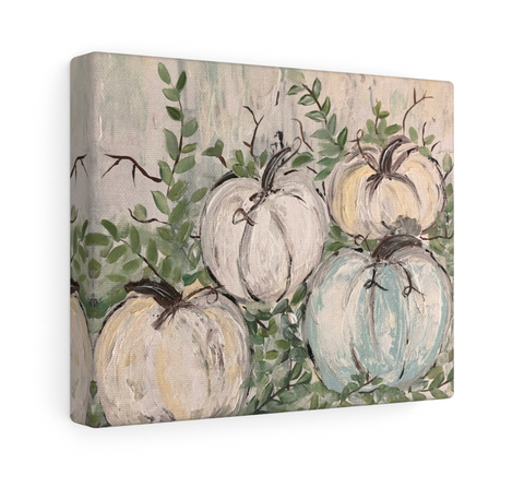 Print. Pumpkin Patch (muted colors) - Gin's Den