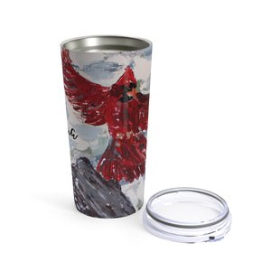 The Messenger Cardinal Tumbler 20oz. Personalized
