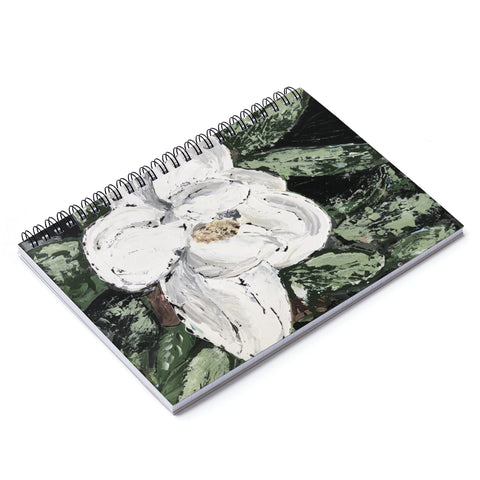 Spiral Notebook - Ruled Line - Magnolia - Gin's Den