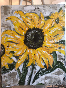 Original. Sunflower Fun. - Gin's Den