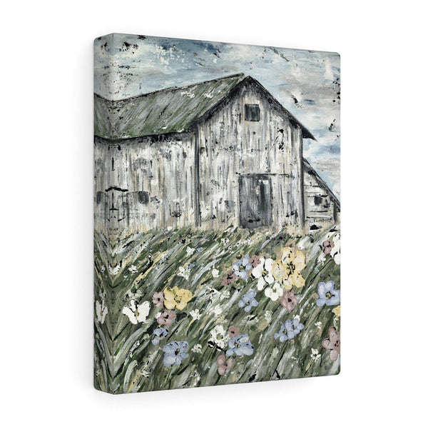 Print.  The Lonely Barn.  Premium Matte vertical posters - Gin's Den