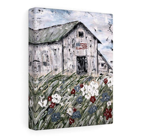 Print. USA Barn.  In Paper Print or Canvas Prints - Gin's Den