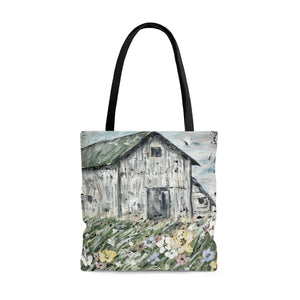 Printify Bags Large Tote Bag. The Lonely Barn.