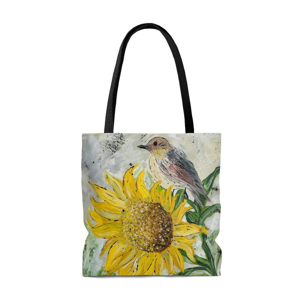 Tote Bag. Sunflower Perch Tote Bag - Gin's Den
