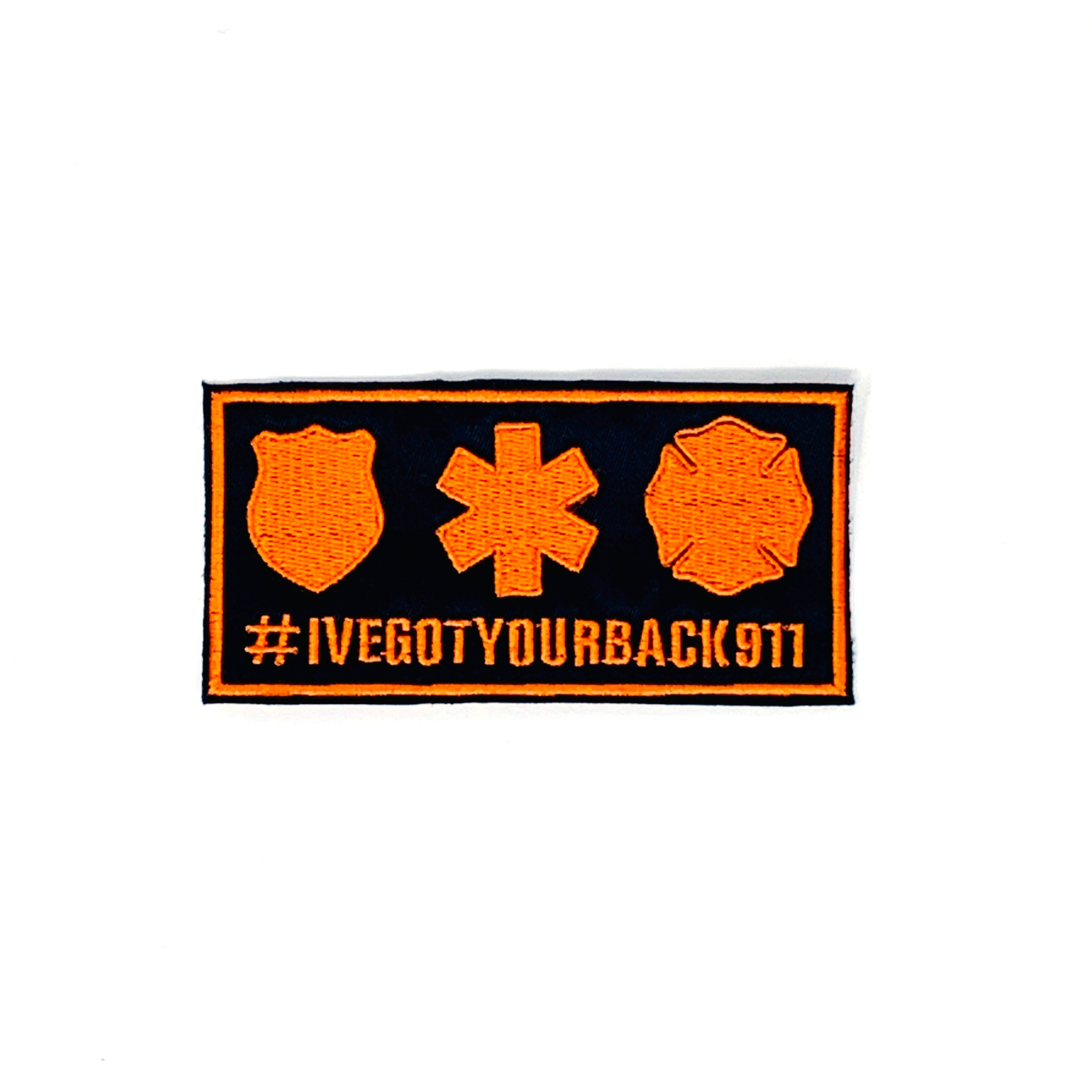 #IVEGOTYOURBACK911 Patch - Sew On