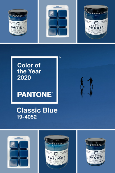 Pantone Color Of The Year 2020 Pantone 19 4052 Classic Blue White Fox Black Koi Candle Co,New York Times Travel Editor Contact