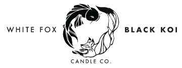 White Fox Black Koi - Scented Soy Candles from North Canton, Ohio