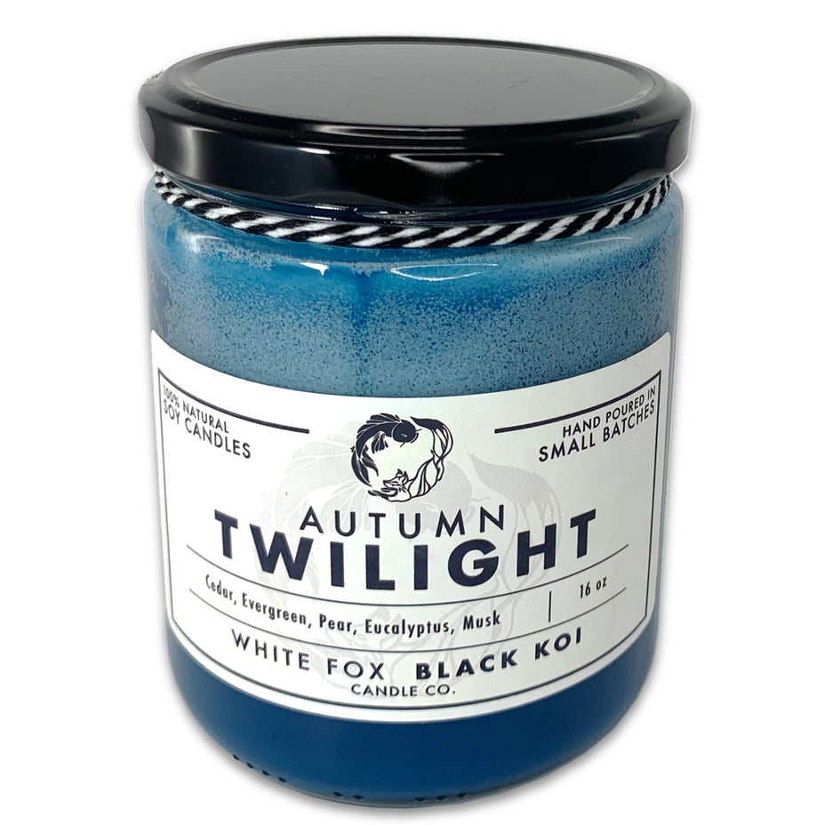 Autumn Twilight Scented Soy Candle