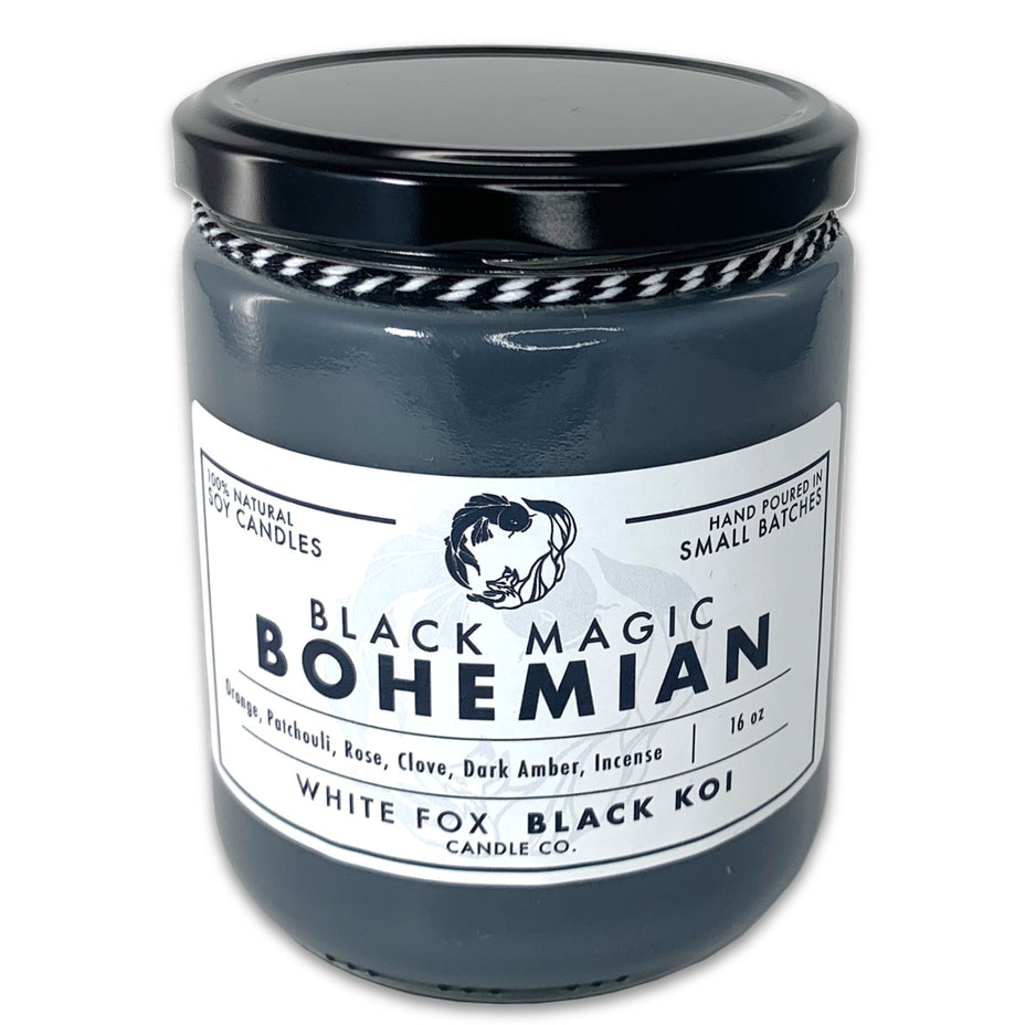 Black Magic Bohemian Scented Soy Candle