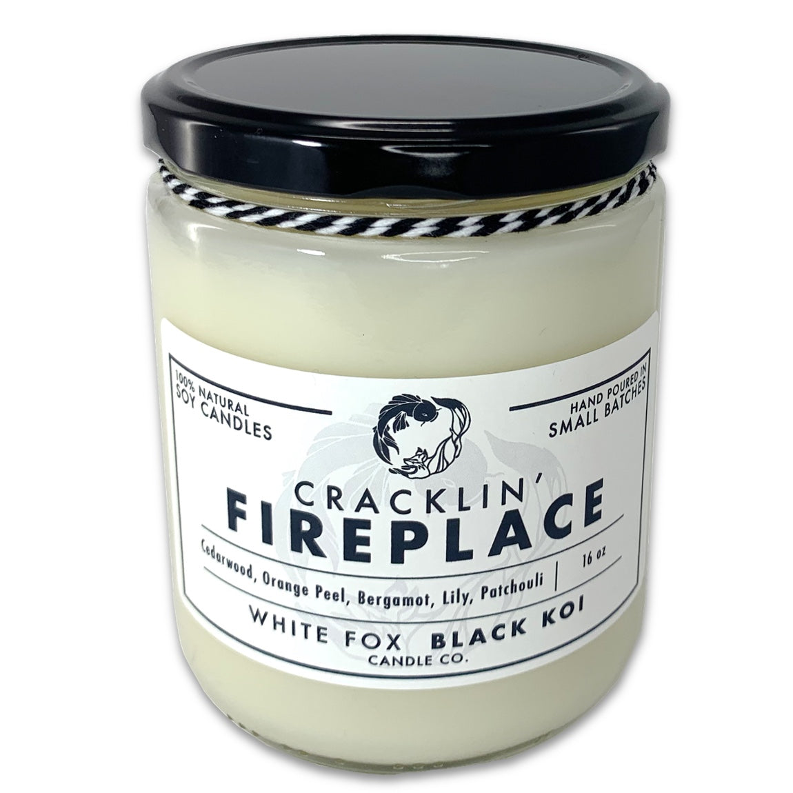 Cracklin' Fireplace Scented Soy Candle