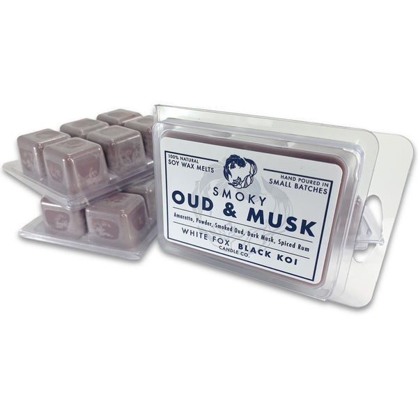 Wax Melts - Smoky Oud & Musk