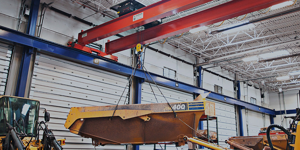 Hoj Innovations Services Industrial Sector with Overhead Cranes and More