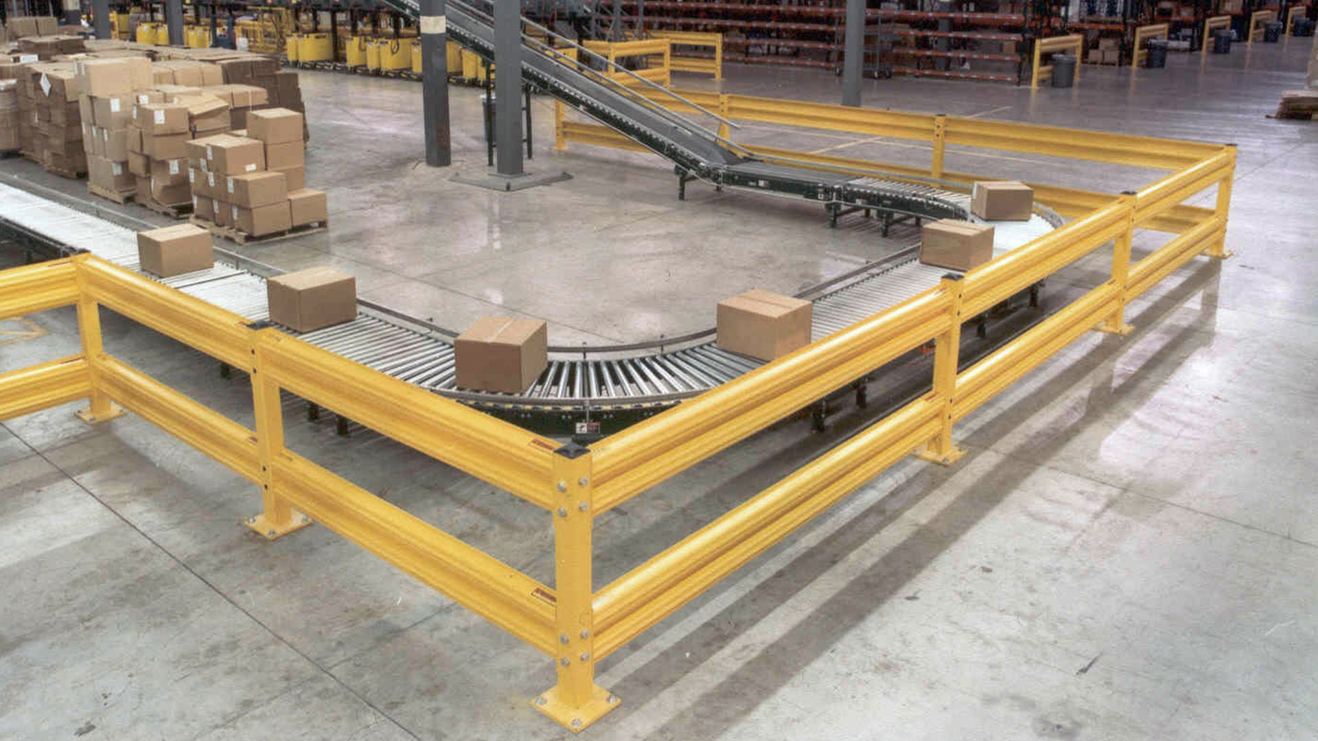 Forklift Guardrail