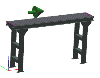 "12"" Wide - Light Duty - Non-Powered Conveyor"