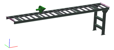 "18"" Wide - Light Duty - Non-Powered Conveyor"