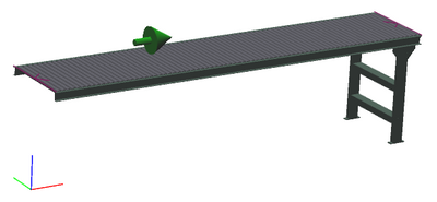 "24"" Wide - Light Duty - Non-Powered Conveyor"