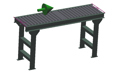 "18"" Wide - Medium Duty - Non-Powered Conveyor"