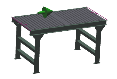 "30"" Wide - Medium Duty - Non-Powered Conveyor"