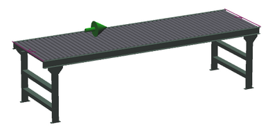 "36"" Wide - Medium Duty - Non-Powered Conveyor"