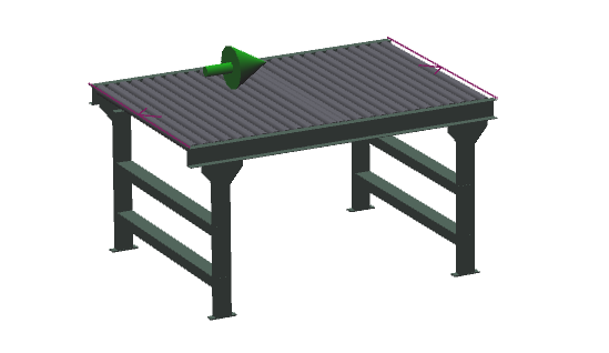 "42"" Wide - Medium Duty - Non-Powered Conveyor"