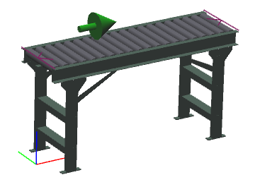 "18"" Wide - Heavy Duty - Non-Powered Conveyor"