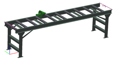 "24"" Wide - Heavy Duty - Non-Powered Conveyor"