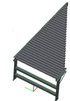"18"" - SPUR - Heavy Duty - Non-Powered Conveyor"