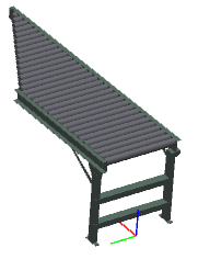 "30.25"" - SPUR - Heavy Duty - Non-Powered Conveyor"