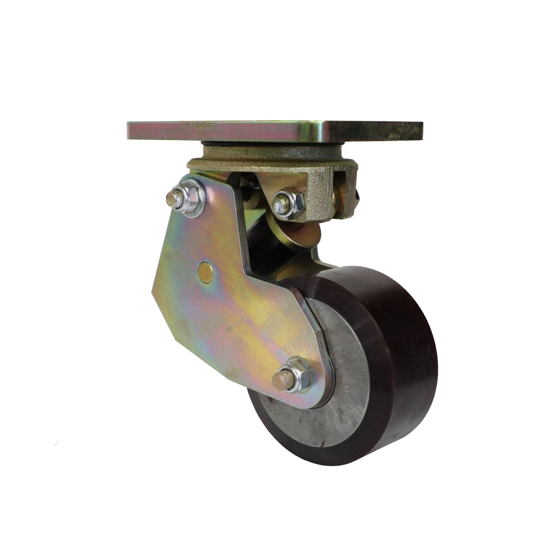 6k Side Adjust STD Poly Spring V2 5x2 Wheel Caster SKU: 43380-FS005