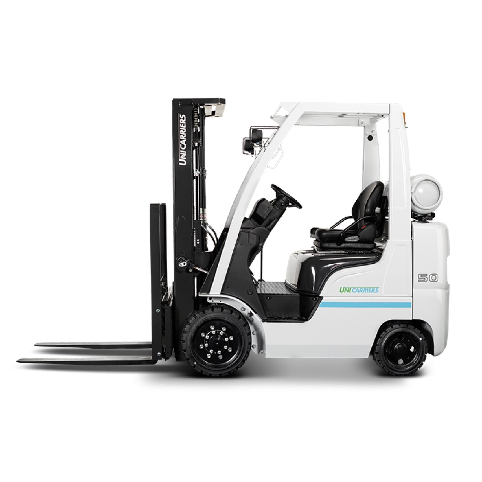 UniCarriers Platinum II - 5,000 Cushion Tire Forklift - CFU50LP