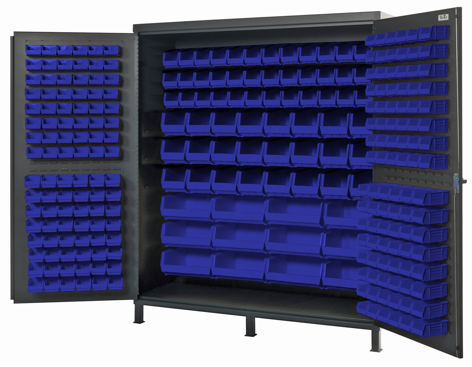 "72"" WIDE HEAVY-DUTY ALL-WELDED BIN CABINETS"