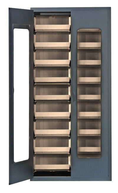 "HEAVY DUTY 36"" ALL-WELDED BIN CABINETS - QSC-C250"