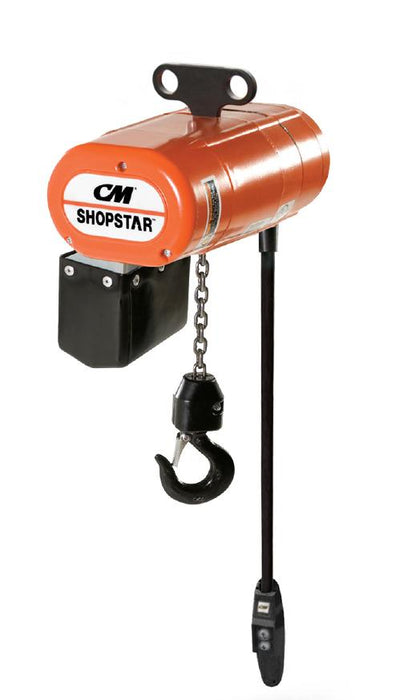 300 lbs - CM Shopstar Electric Chain Hoist